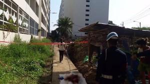 สลด เด็กสาว วัย 14 กระโดดตึกตาย น้อยใจ…แม่ไม่ให้ไปเคาท์ดาวน์ ( 01 ม.ค.2561 )